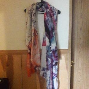 Chanel texas scarf multicolor